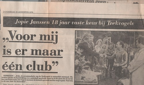 Afscheidswedstrijd Jopie Janssen