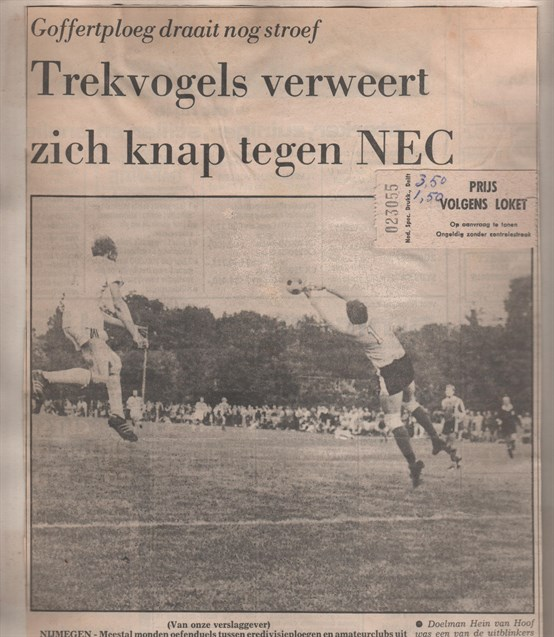 Trekvogels - NEC profs